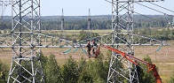 Laying of 190 km of digital communication lines in the power grids of the Kursk and Orel regions has been completed